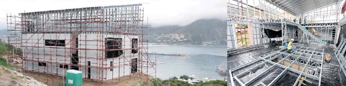 Steel-frame house turns heads in Hout Bay