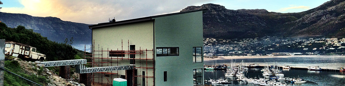 Steel-frame House Turns Heads Above Hout Bay Harbour