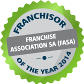 Franchisor of the year 2014